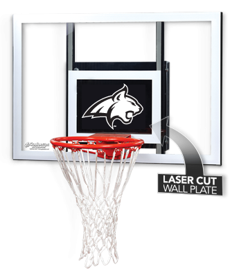 Check out this Montana State Bobcats jr. wall-mount. This is perfect for any Montana State man cave. Goalsetter also offers a variety of other colleges all basketball fans!