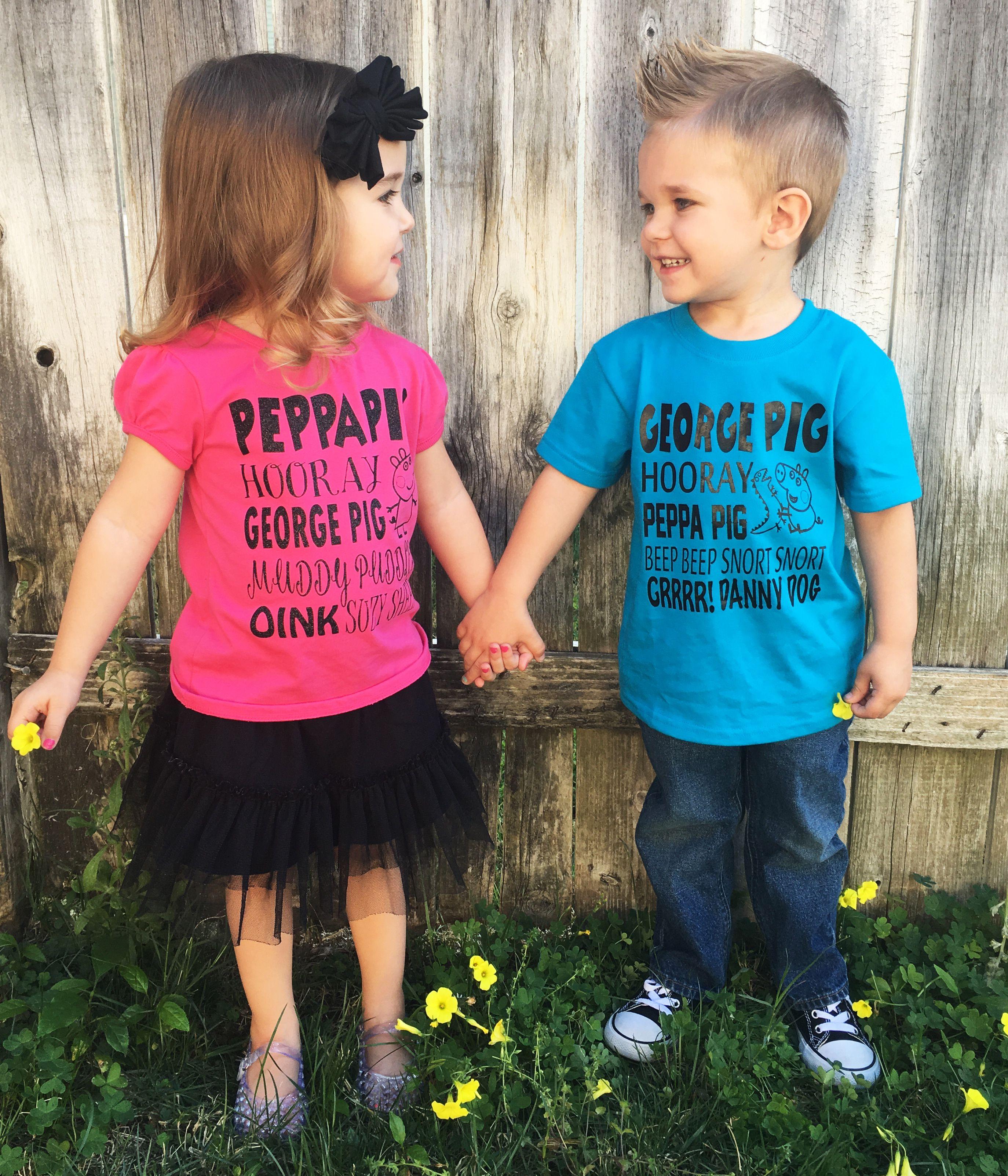 Pin By Jennifer George On Boys Rooms: Peppa Pig Shirts