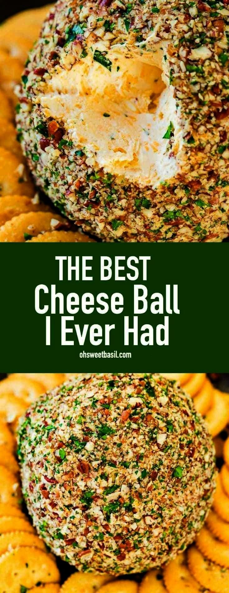 no idea that a cheese ball could be this good. Last year I had the best cheese ball I ever had and