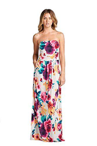fa77e33a87 Vanilla Bay Floral Maxi Dress Vanilla Bay https   www.amazon.com