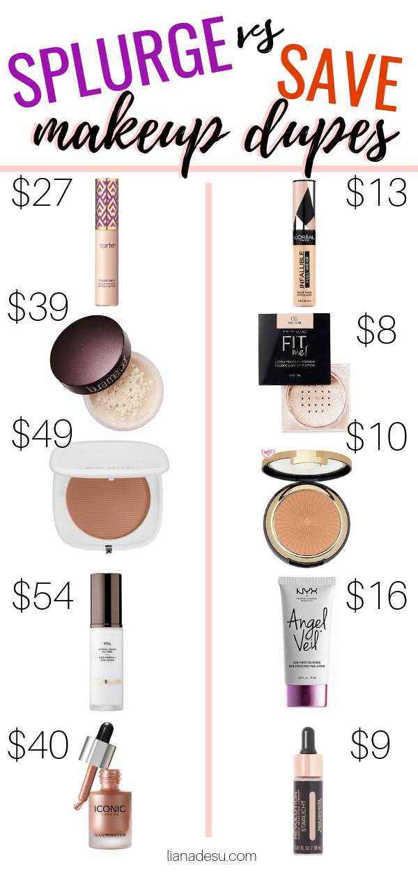 Best Drugstore Makeup Dupes The Ultimate List Liana Desu Drugstore Makeup Dupes Best Drugstore Makeup Makeup Dupes