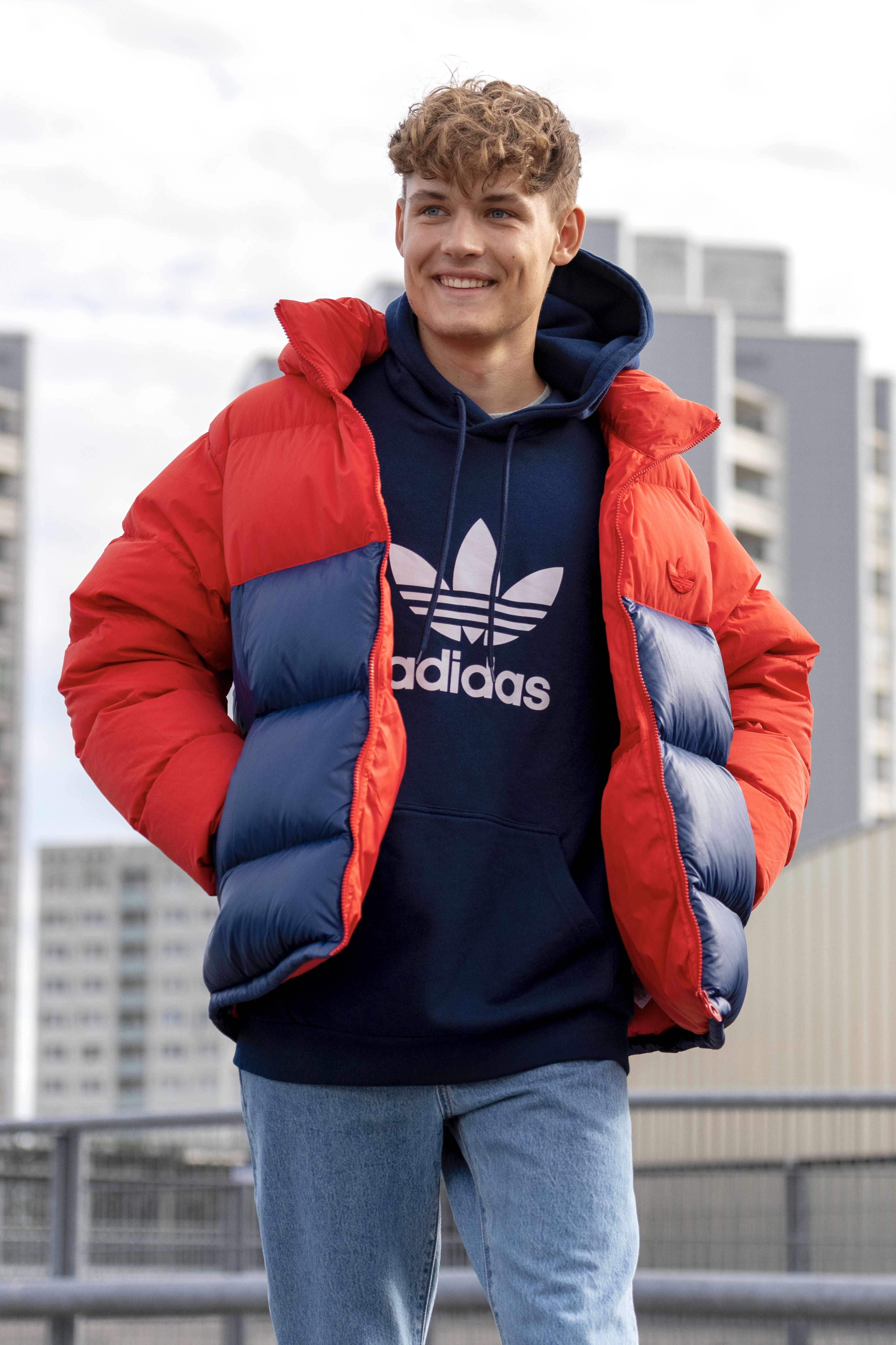 Adidas Holiday Gift Guide Men S Outerwear Mens Down Jacket Mens Cold Weather Cold Weather Outfits [ 5504 x 3669 Pixel ]
