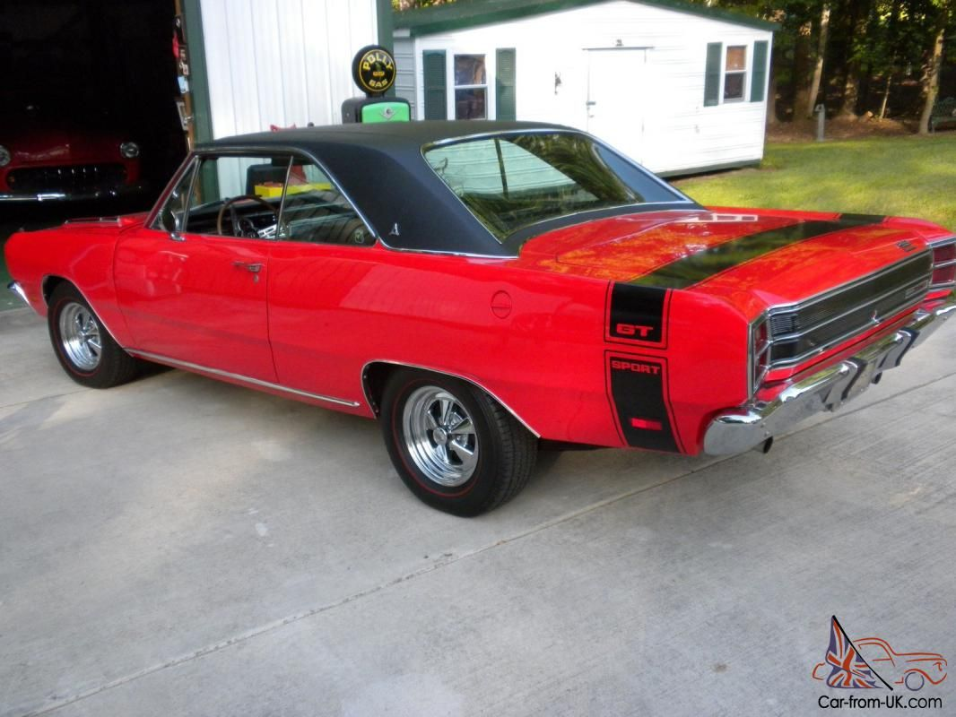 1969 Dodge Dart Gts Matching Numbers Very Rare Dodge Muscle Cars