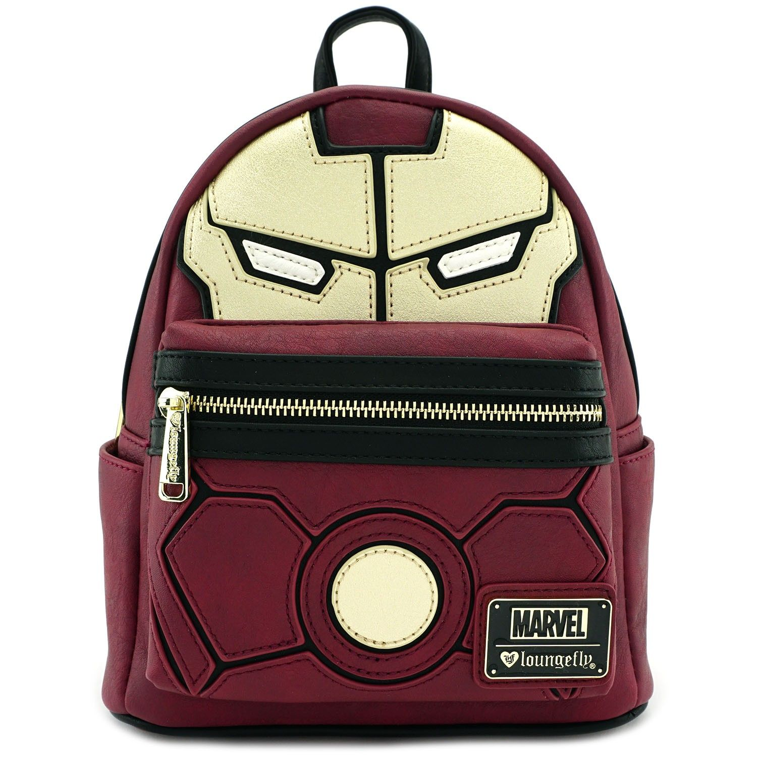 Loungefly x Marvel Iron Man Cosplay Faux Leather Mini Backpack - Marvel -  Brands b017598e5ed95
