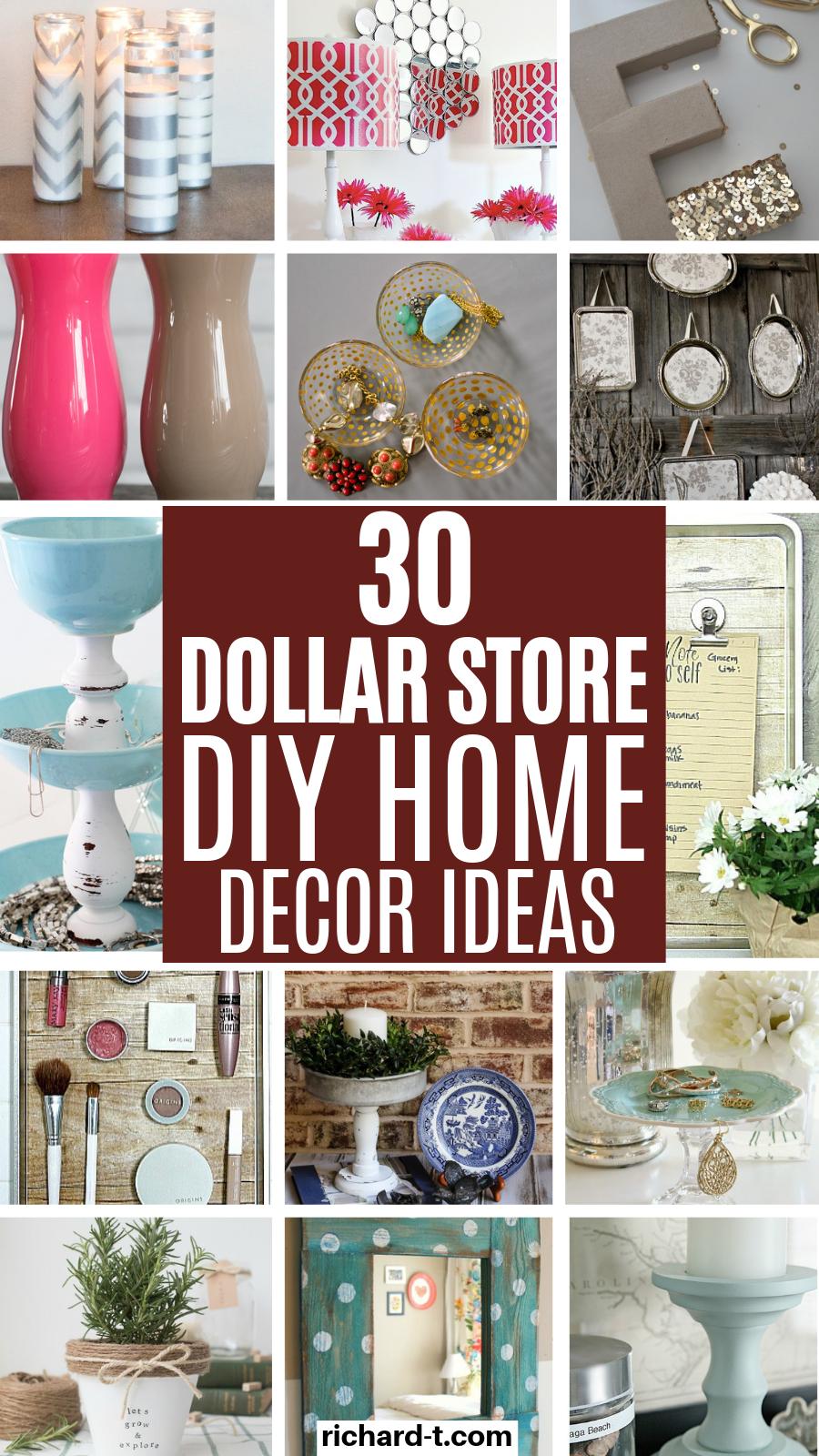 30 Diy Home Decor Dollar Store Ideas You Wish You Knew Dollar