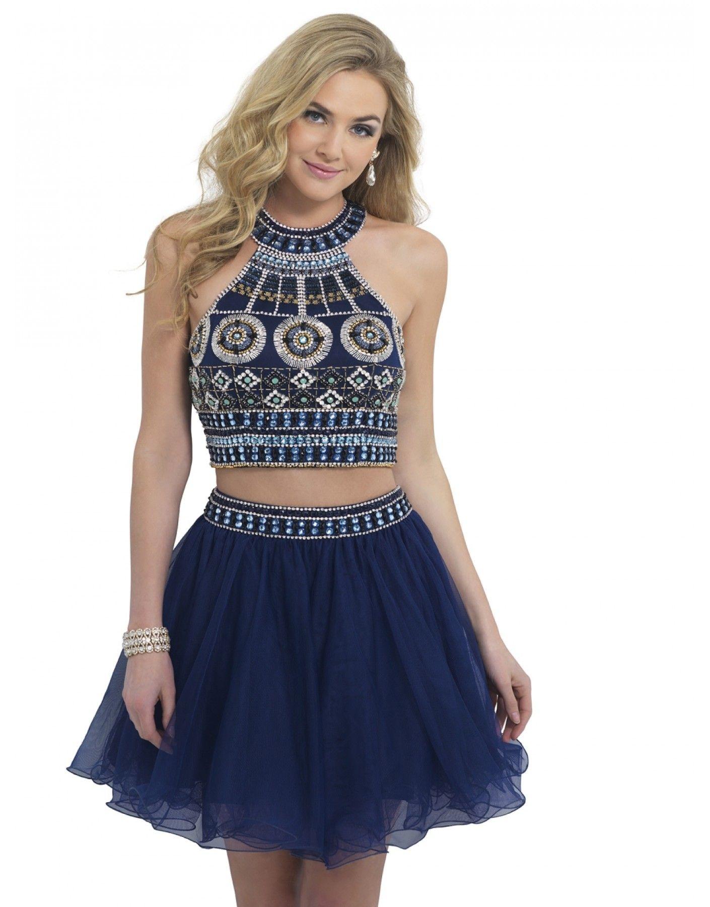 Two piece geometric beaded dress dresses pinterest