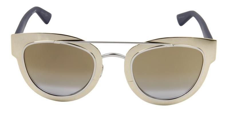 b42bf65c2e7 Dior Chromic Gold   Gold Lens Mirror Sunglasses