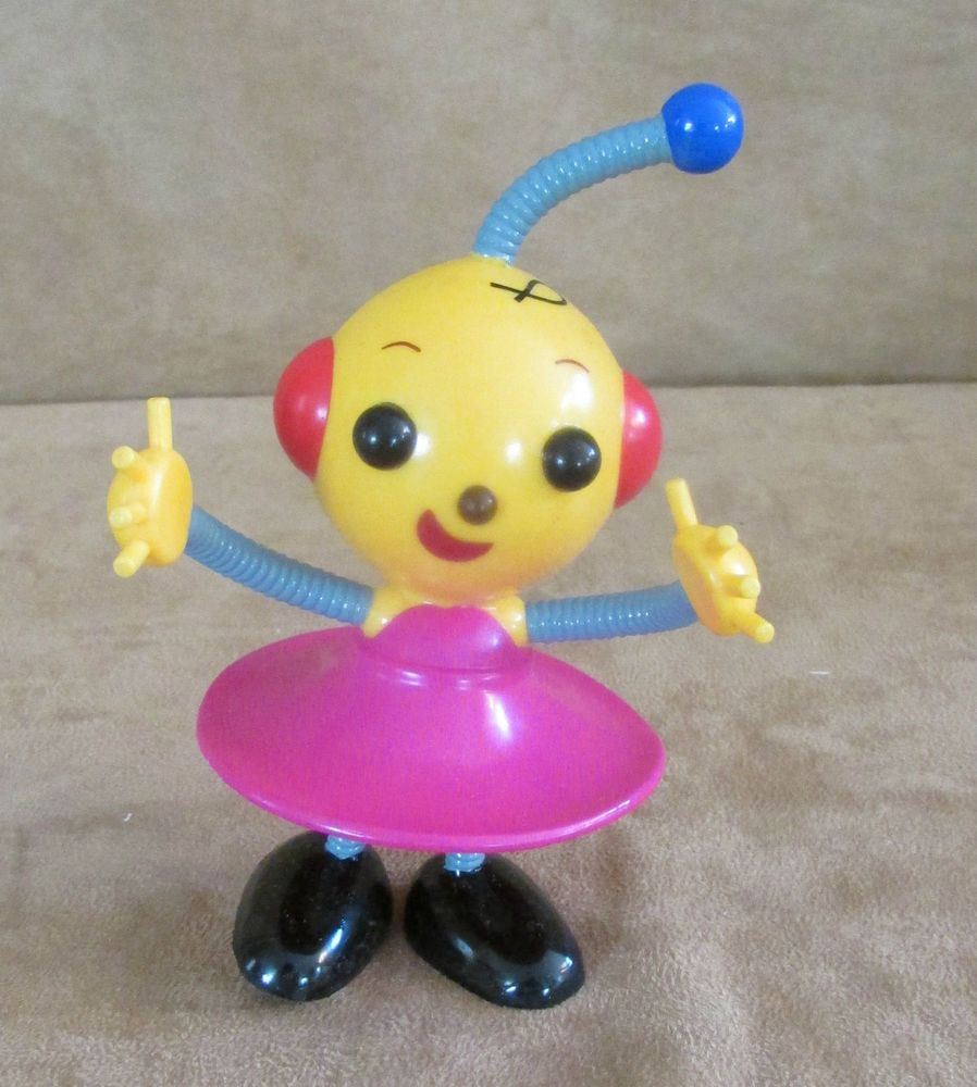 Zowie Rolie Polie Olie Pvc Poseable Figure Toy Playhouse Disney Robot Sister Vintage