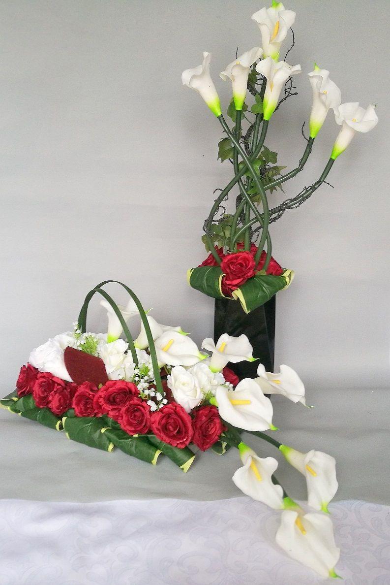Zestaw Bialo Czerwony Nr 115 Swiateczne Atelier Flower Decorations Flower Arrangements Floral