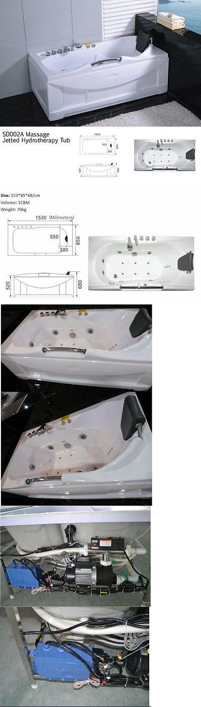 Bathtubs 42025: New Jetted Whirlpool Hydrotherapy Bathtub Bath Tub ...