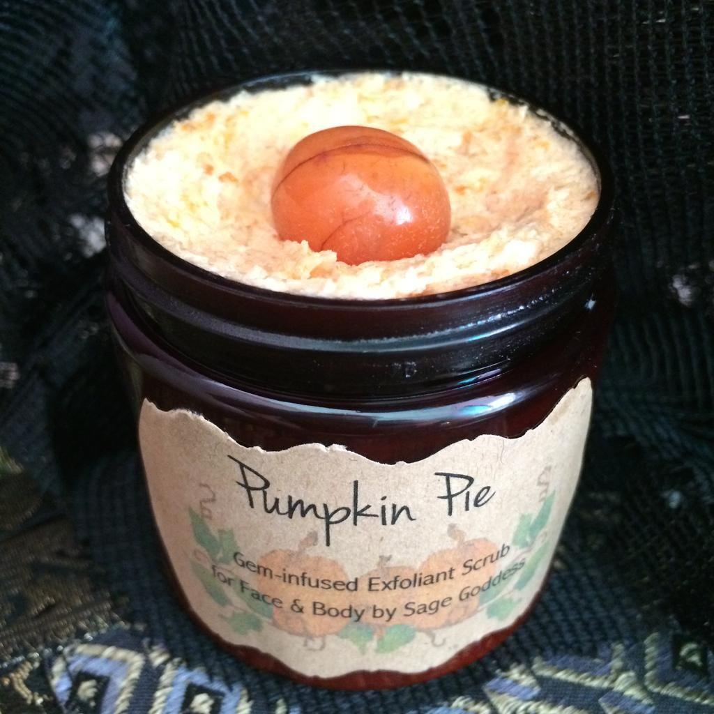 Pumpkin Pie Gem-Infused Face and Body Exfoliant - Skin Care for Goddesses $25 via @shopseen