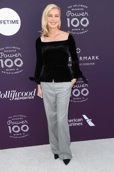 Connie Nielsen attends The Hollywood Reporter's 2017 Women In Entertainment Breakfast at Milk Studios on December 6, 2017 in Los Angeles, California.