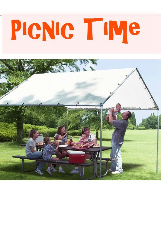 Enjoy a lovely picnic time with your family under the cool shade of one of our standard canopies. Use PTM canopy every time when you and your family need a ...  sc 1 st  Pinterest & Enjoy a lovely picnic time with your family under the cool shade ...