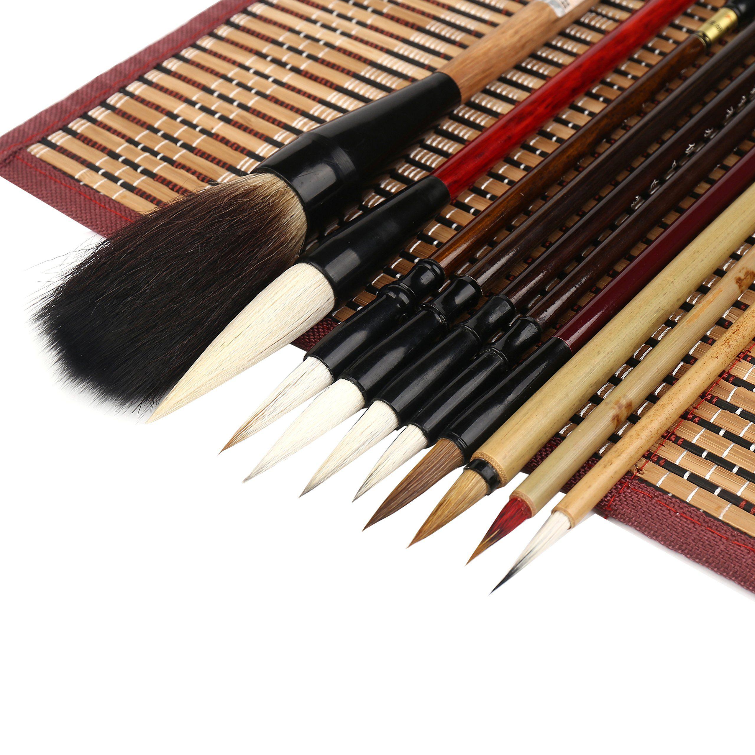 Corcio Shanlian Hubi Writing Brush Watercolor Chinese Calligraphy