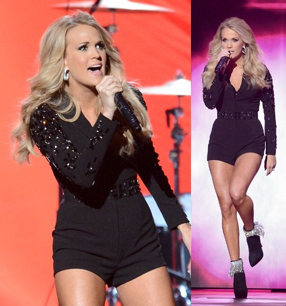 Carrie Underwood Wears 9 Different Outfits to the Country ...