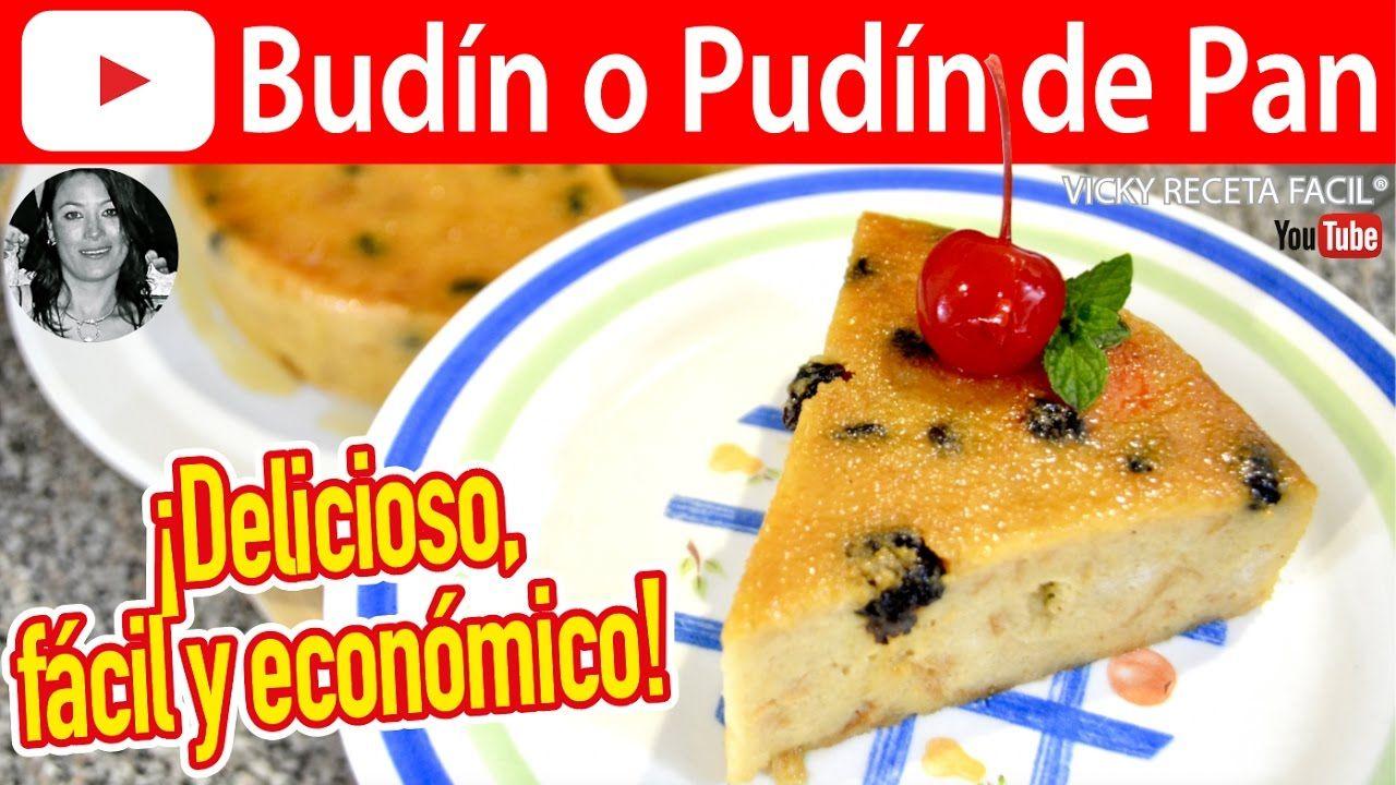 Budin De Pan Vicky Receta Facil Desserts Ice Cream Candy Jell O