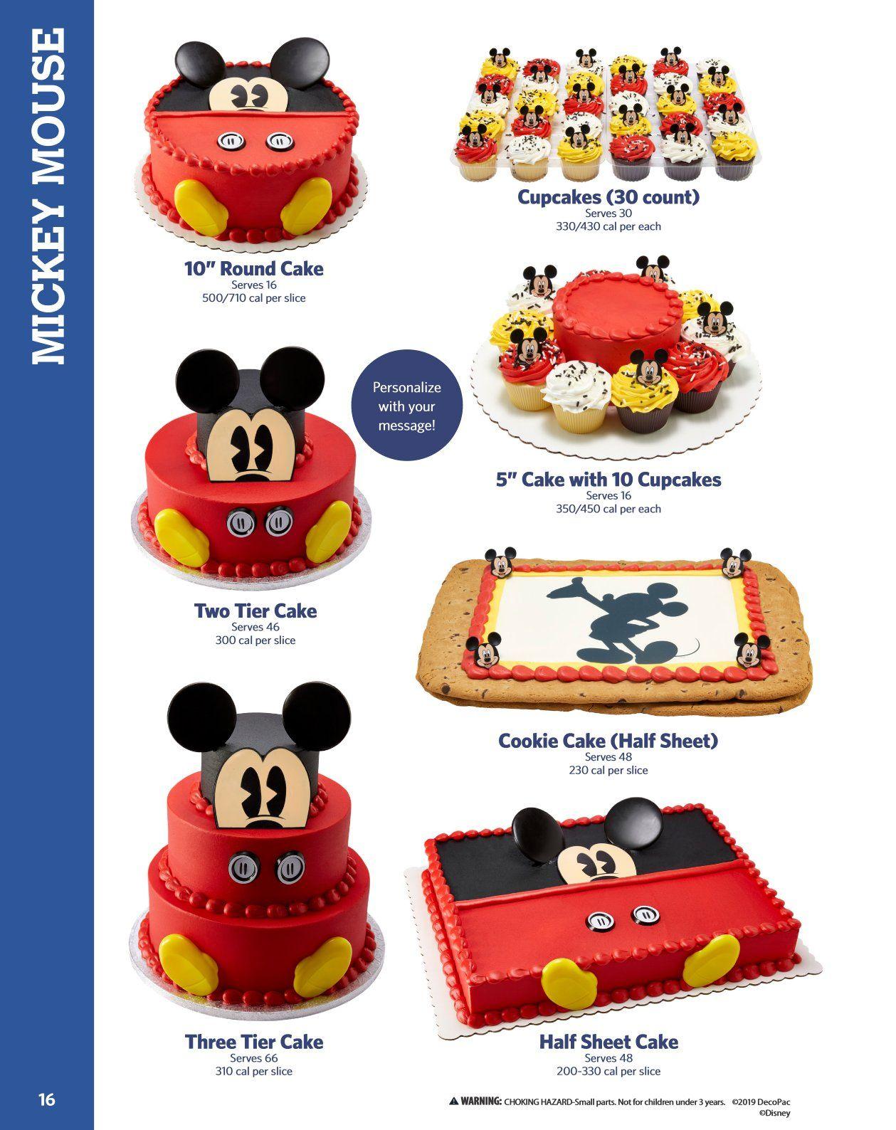 Sam's Club Toy Story Cake : sam's, story, Sam's, Mickey, Cakes,, Cake,, Servings