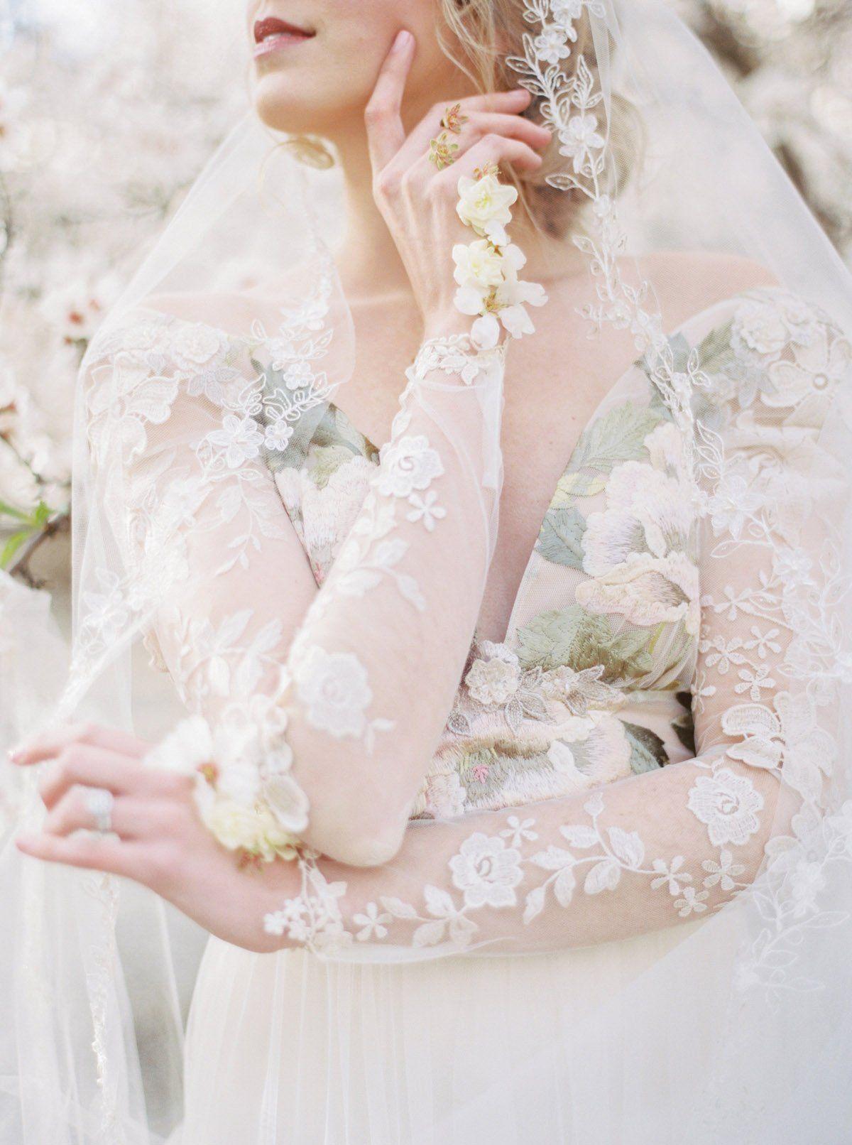 Claire Pettibone Primavera Gown Primavera Is Available As Shown