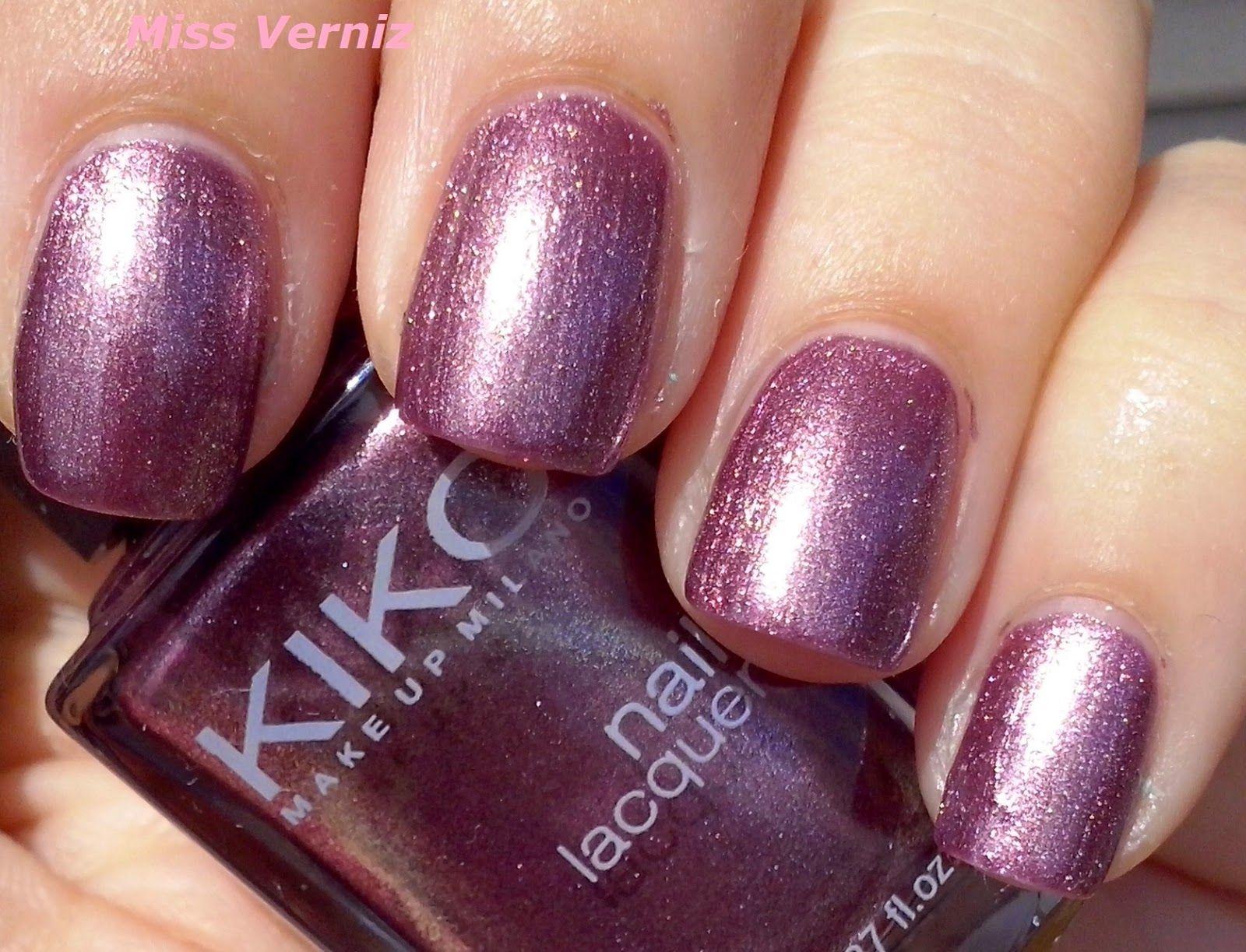 KIKO 511 Metallic Mercury Pruple | SMALTI KIKO | Pinterest | Nail tattoo
