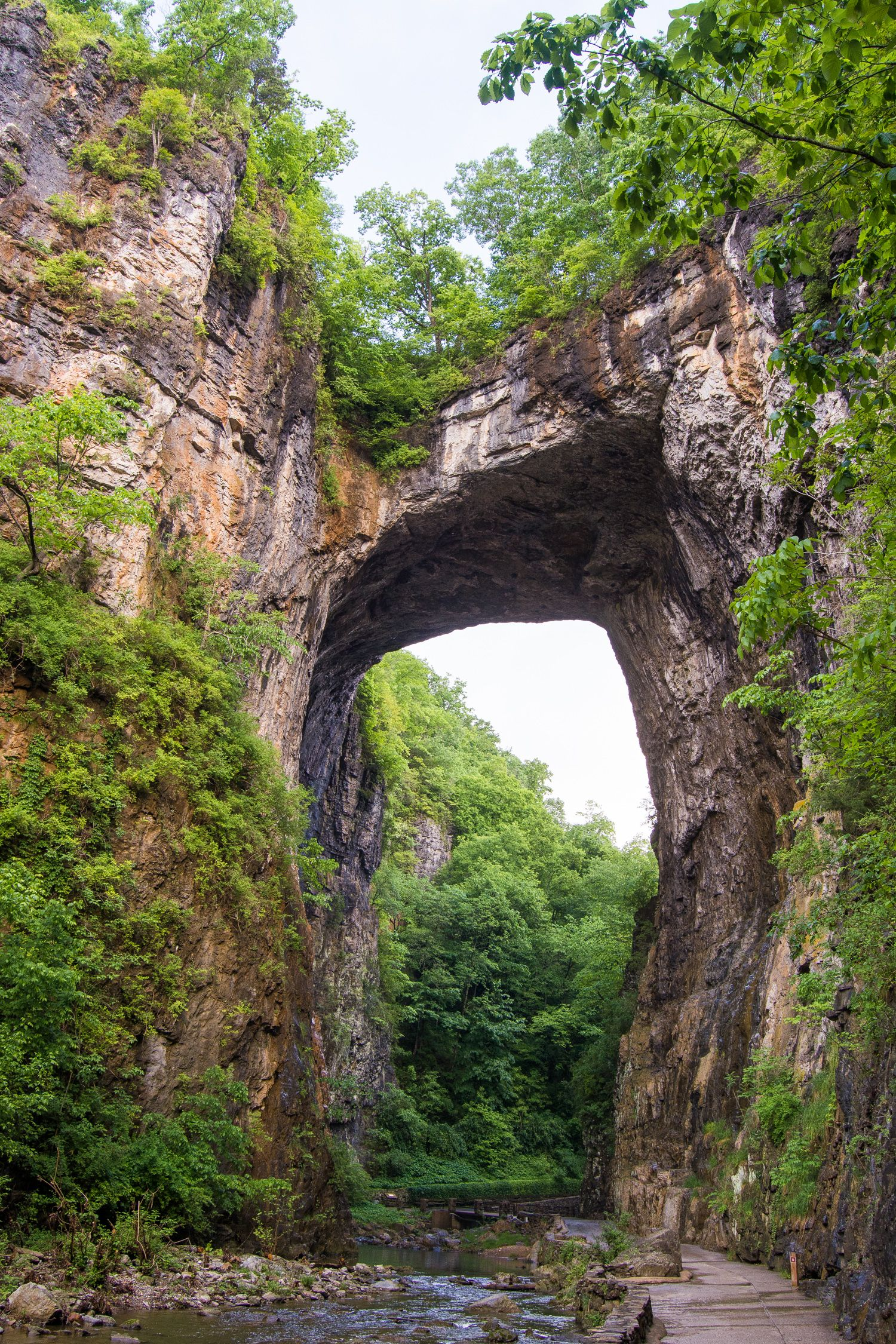 The Beauty Of Natural Bridge State Park Virginia Travel Natural Bridge Virginia Natural Bridge Road Trip Fun