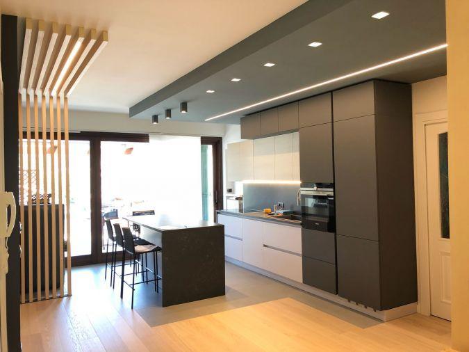Arredamento casa progetto zona giorno design cucina soggiorno mobile