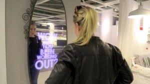 IKEA lança espelho que o elogia