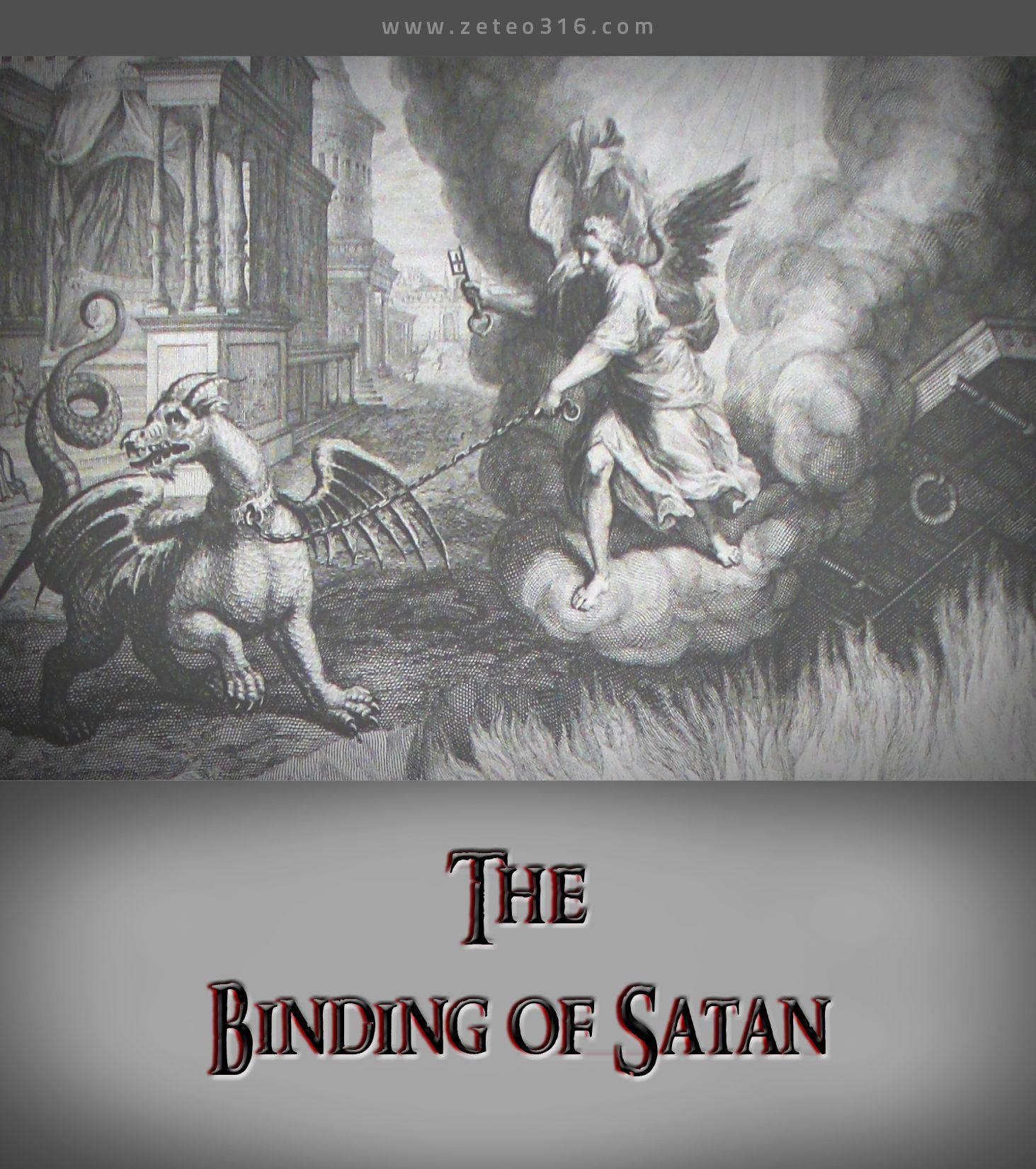 If Satan Is Already Bound As Amillennialists Claim, Why Is