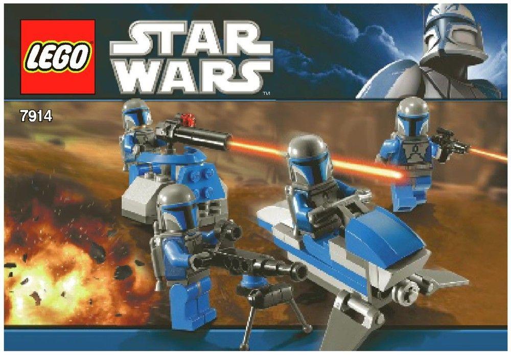 Star Wars Mandalorian Battle Pack Lego 7914 Lego Sets Of