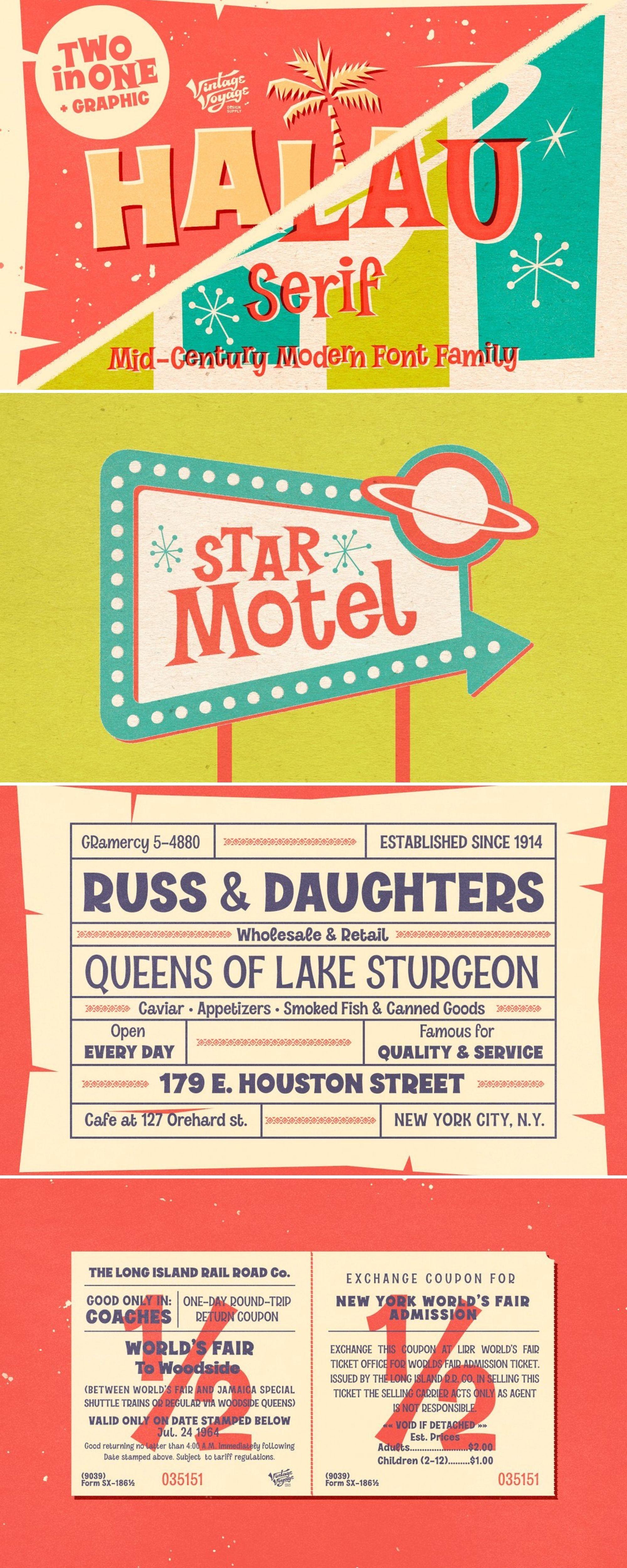 mid century modern poster