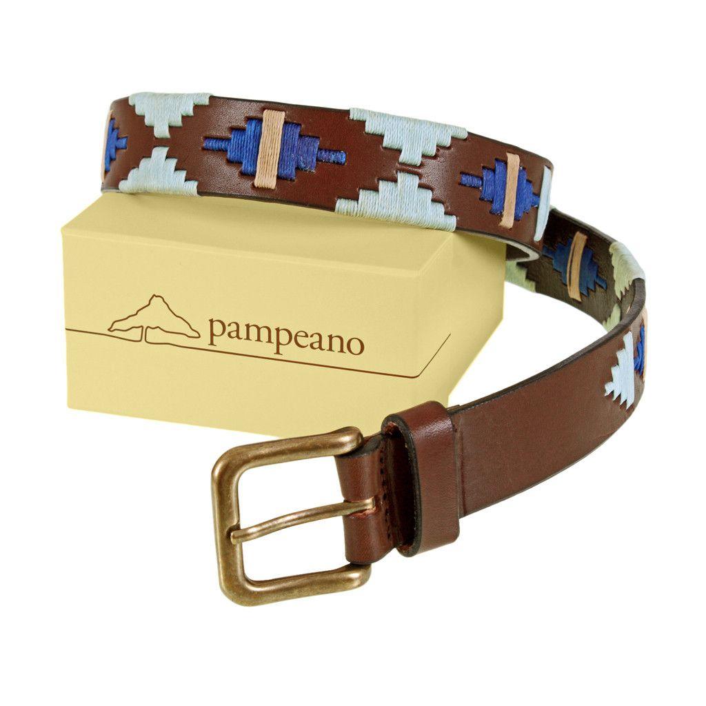 Leather Polo Belt | Rio | Luxury Argentine Leather Goods | pampeano
