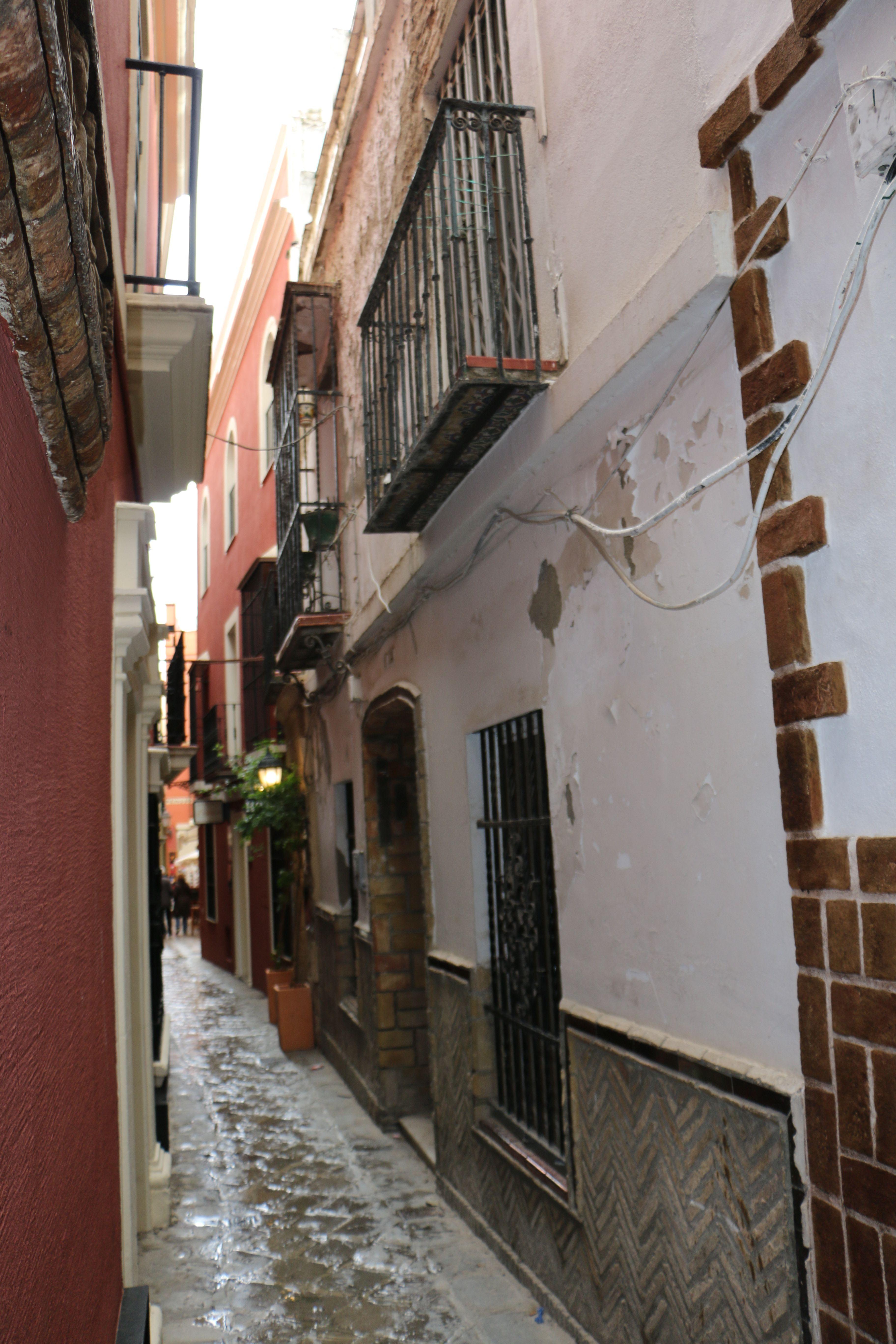 Sevilla. Barrio_de_Santa_Cruz. Pulse en la fotografía