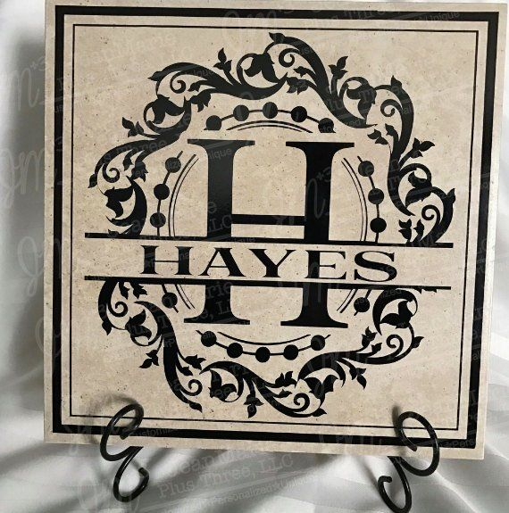 Best Personalized Family Last Name 12X12 Tile Free Shipping 640 x 480