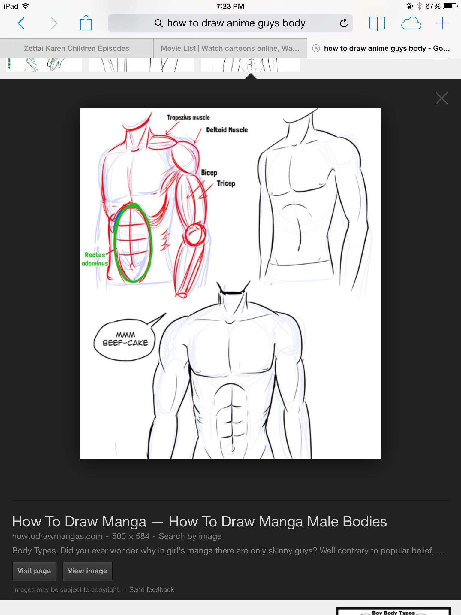 How To Draw Anime Abs : anime, Manga, Drawing,, Drawings,, Drawing