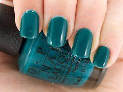 Opi Nail Polish In Deep Teal Teal Emerald Dark Aqua