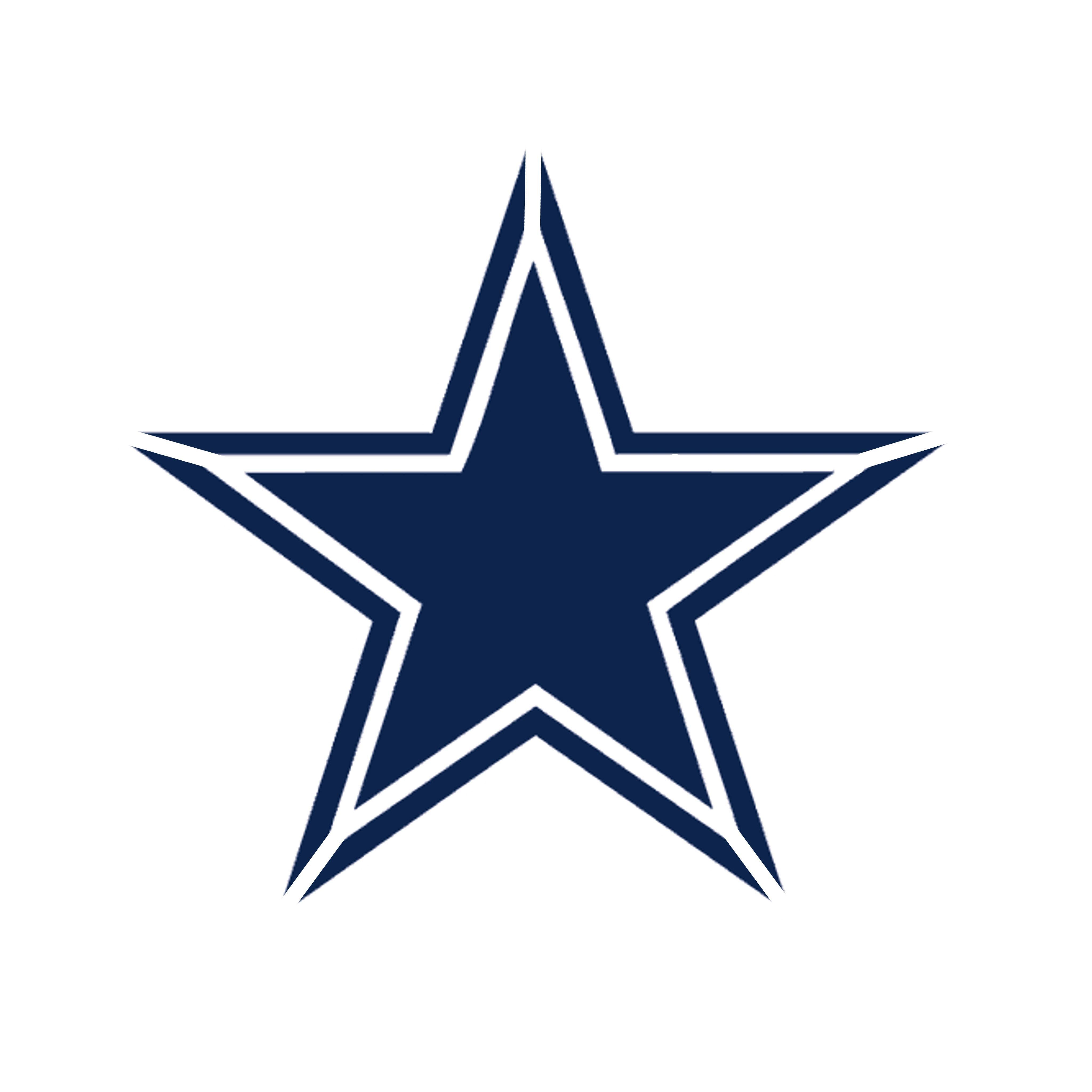 Dallas Cowboy Font and Logo Stencil 10 mil Reusable Patterns