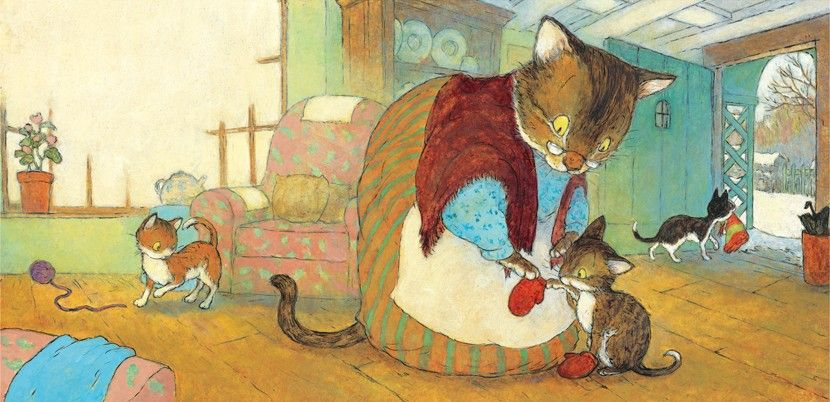 Mittens for me, Knitty Kitty, by Christopher Dennis