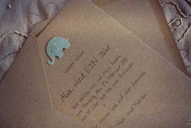 ♥ L'inutile: Einladung 1. Geburtstag