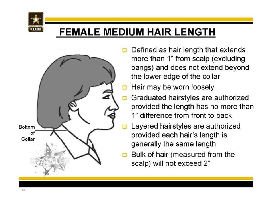 37++ Female authorized hairstyles army ideas