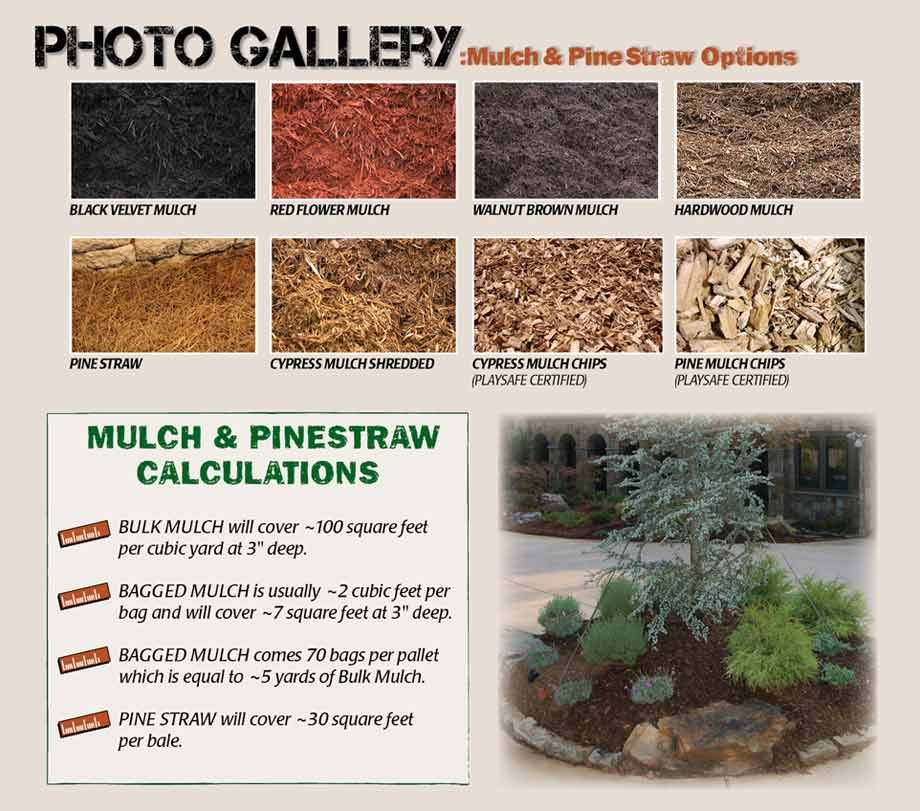 Mulch Installation Stone Forest Mulch Landscaping Supplies Types Of Mulch