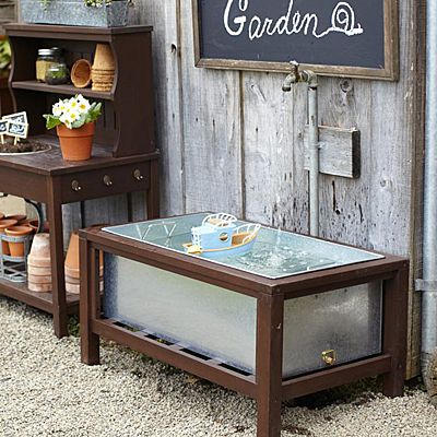 Garden Planter Box Or Water Table   Pottery Barn Kids Part 11