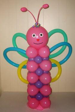 cmo hacer una columna con globos decoracin con globos en toda fiesta se utiliza los