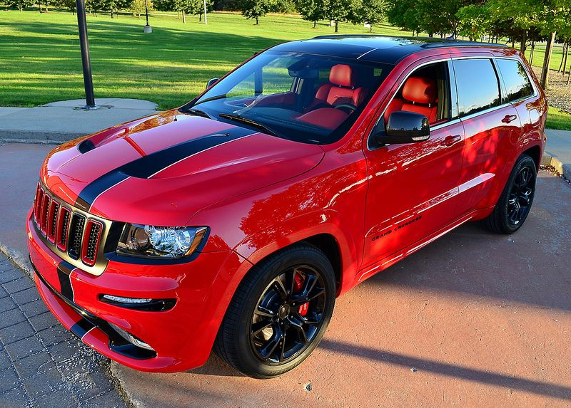 2012 Jeep Grand Cherokee Srt8 Ferrari Inspired Jeep Jeep Grand Cherokee Jeep Srt8