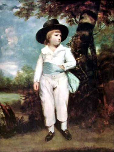 John Charles Spencer, Viscount Althorp - Joshua Reynolds 1736 (rococo)