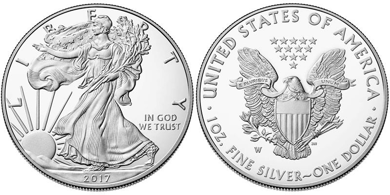 2017 American Eagle One Ounce Silver Proof Coin Goes On Sale On March 23 Coin Community Forum Silver Dollar Value Silver Eagle Coins Silver Bullion