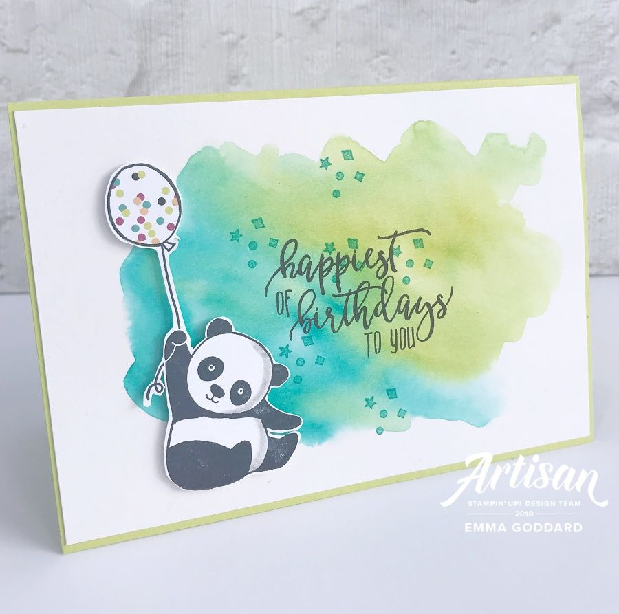 Party pandas with watercolour panda cards and birthdays party pandas are the perfect set for any birthday card but particularly great for childrens cards bookmarktalkfo Image collections