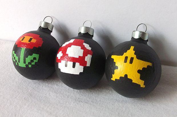 Super Mario Nintendo Christmas Ornament 2 - Super Mario Nintendo Christmas Ornament 2 Christmas Decorations