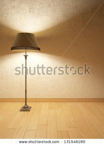 Lamp in Interior - stock photo