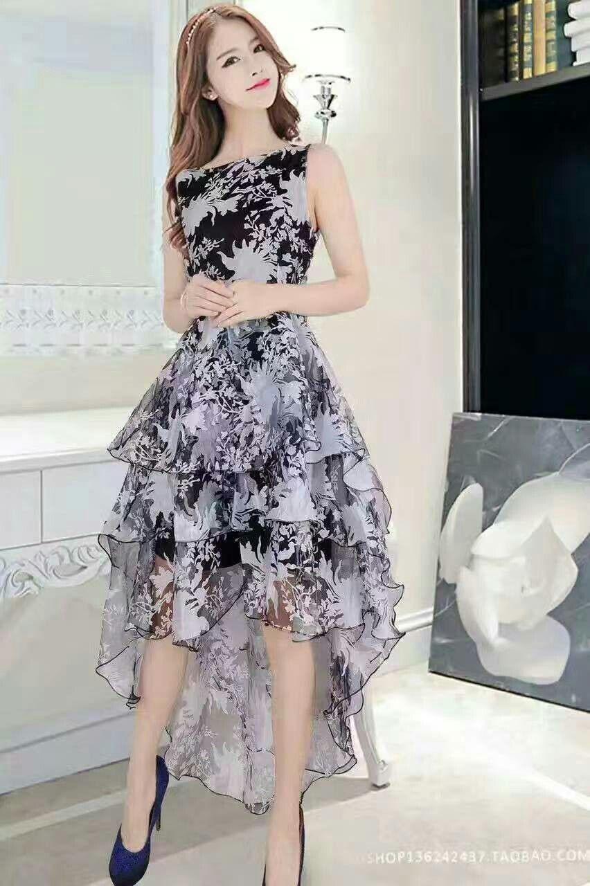 Vestido Divertido Y Juvenil En 2019 Vestidos De Moda