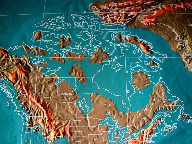 Future Map Of North America Virtual Tour Usa Show Maps