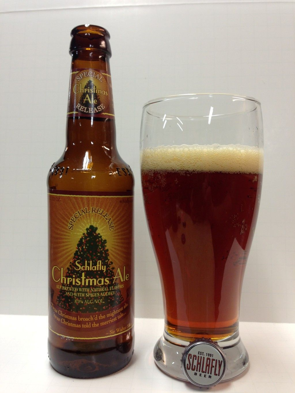 Schlafly Christmas Ale   Beer I have tried.   Pinterest   Ale and Beer